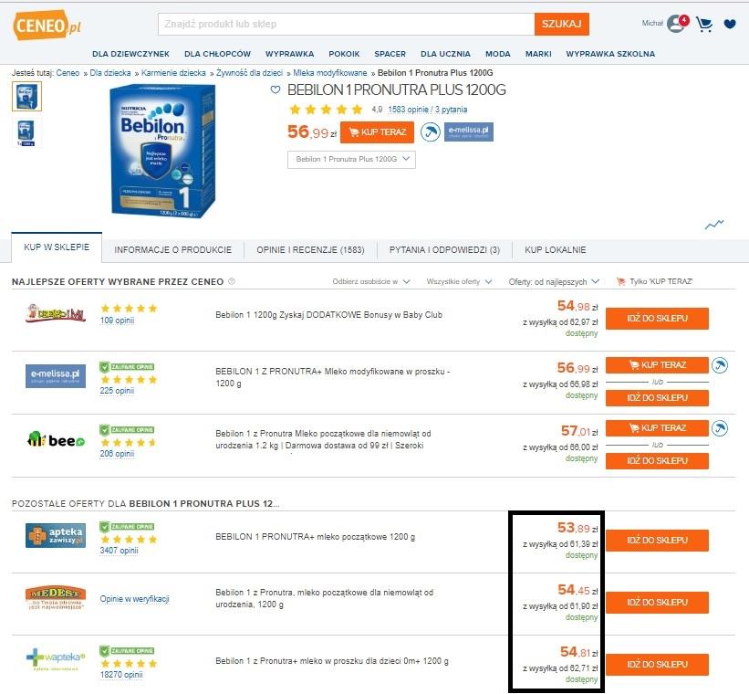 3ba77e556e Analiza monitoringu cen sprawdza się wszędzie tam gdzie mamy produkt  standaryzowany